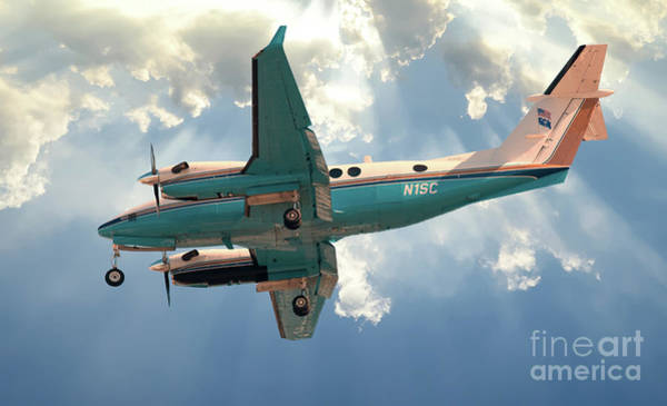 Photograph - King Air Requesting Permission To Land by Dale Powell