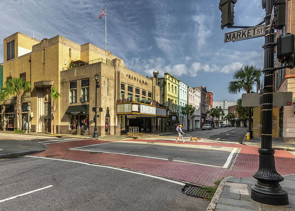 Photograph - King And Market - Charleston, Sc by Donnie Whitaker