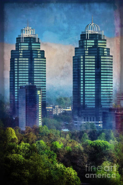 King And Queen Buildings Art Print