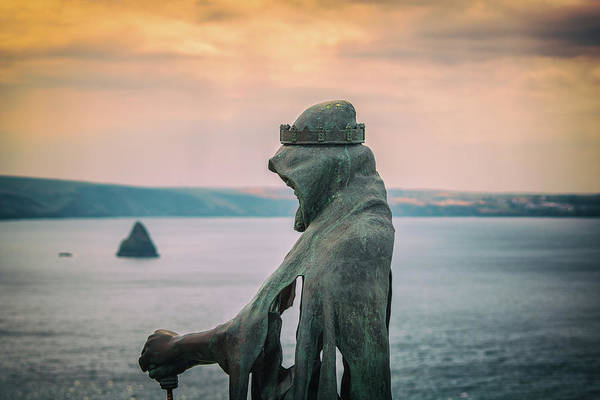 Cornwall Photograph - King Arthur by Martin Newman