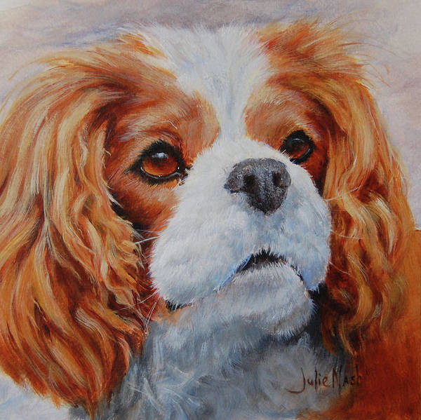 Wall Art - Painting - King Charles by Julie Nash