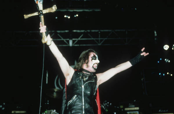 Photograph - King Diamond Of Mercyful Fate by Rich Fuscia