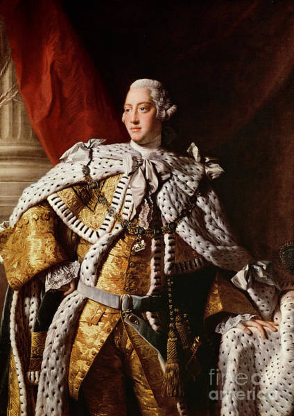 King George IIi Art Print