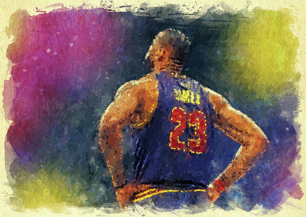 Wall Art - Digital Art - King James by Ricky Barnard