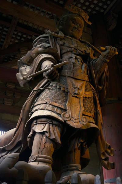 Wall Art - Photograph - King Komokuten - Nara Japan by Daniel Hagerman
