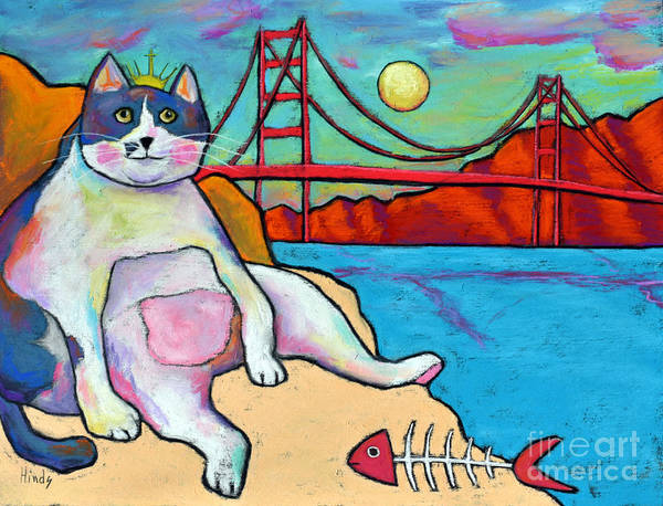 Fat Cat Painting - King Louie by David Hinds