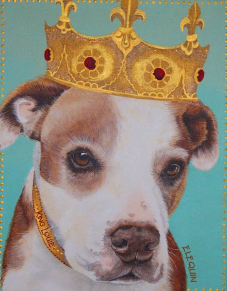 Wall Art - Painting - King Louie by Elizabeth Elequin