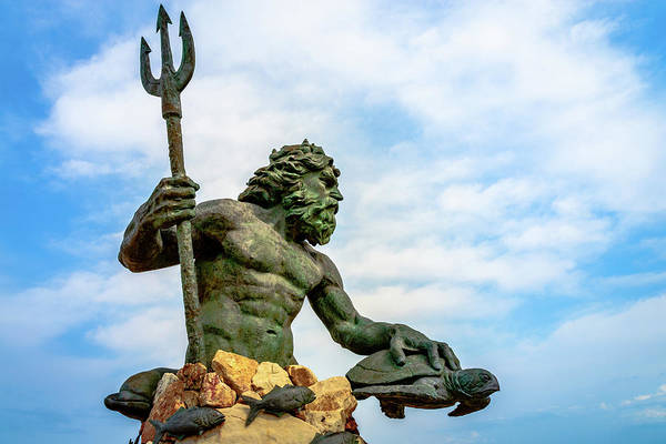 King Neptune Art Print