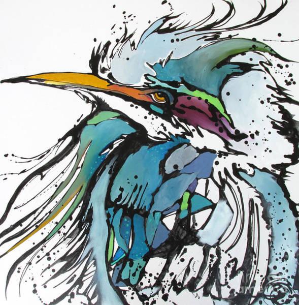Painting - King by Nicole Gaitan
