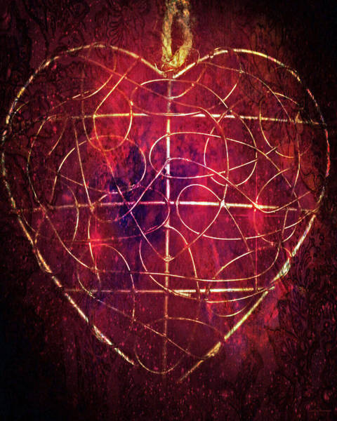 Wall Art - Photograph - King Of Hearts by Linda Sannuti