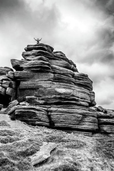 Photograph - King Of The Hill by Nick Bywater