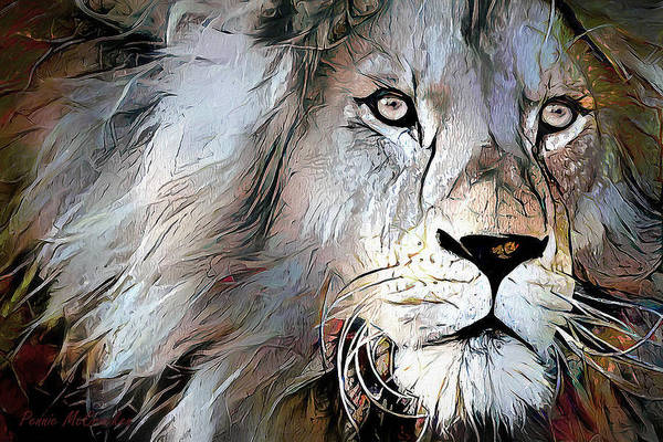 Digital Art - King Of The Jungle by Pennie McCracken
