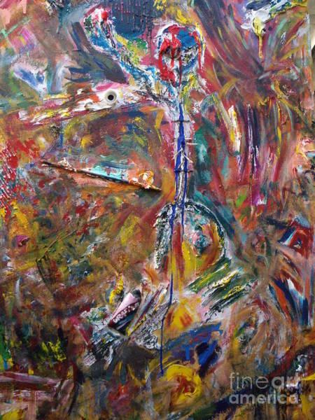 Birdman Painting - King Of The Jungle by Tomas Balduzzi