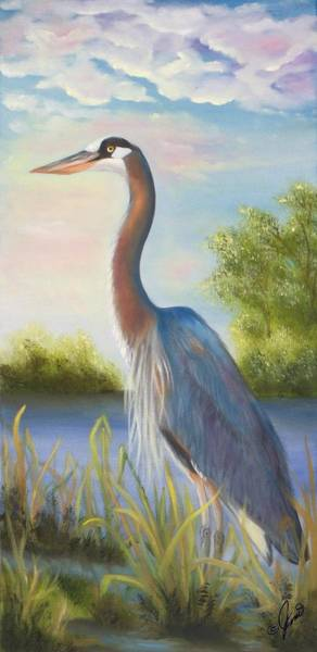 Painting - King Of The Pond by Joni McPherson