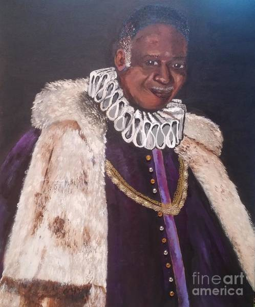 Painting - King Poke by Jennylynd James