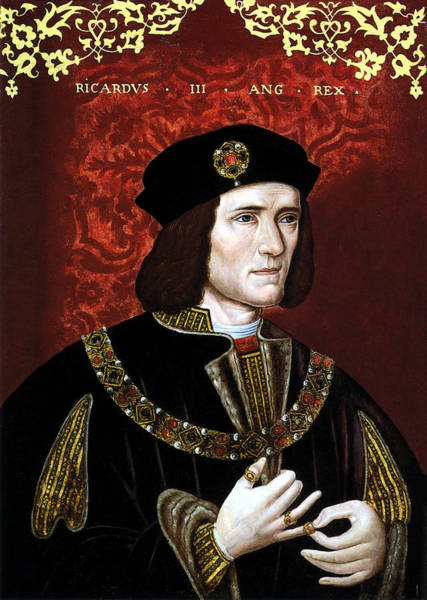 Wall Art - Painting - King Richard IIi Of England by War Is Hell Store