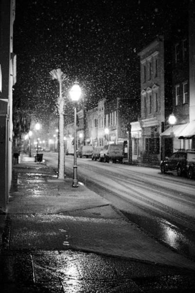 Wall Art - Photograph - King Street Charleston Snow by Dustin K Ryan