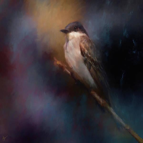 Painting - Kingbird On Patrol by Jai Johnson