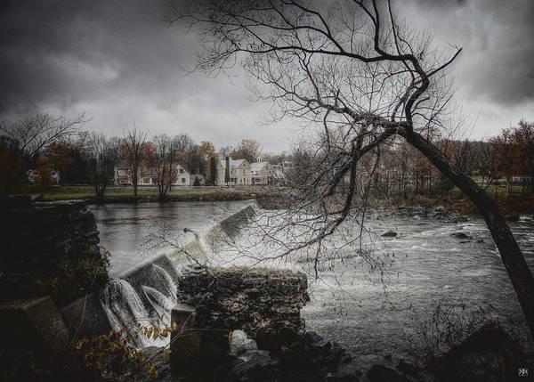 Photograph - Kingfield Dam by John Meader