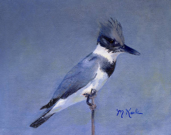 Painting - Kingfisher by Marsha Karle