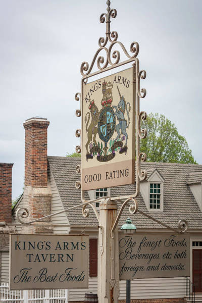 Wall Art - Photograph - Kings Arms Tavern Sign by Teresa Mucha