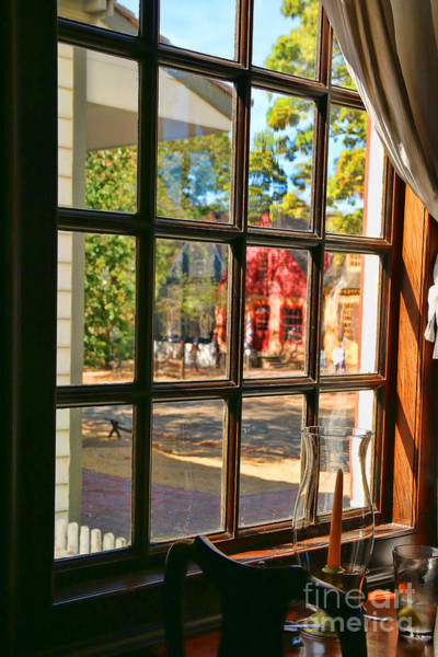 Williamsburg Photograph - Kings Arms Tavern Window Colonial Williamsburg  4771 by Jack Schultz
