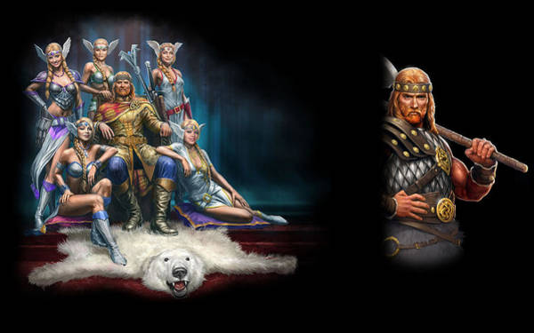 Design Digital Art - King's Bounty Warriors Of The North by Maye Loeser