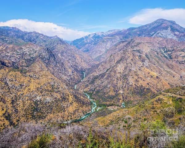 Wall Art - Photograph - King's Canyon  by Michael Tidwell