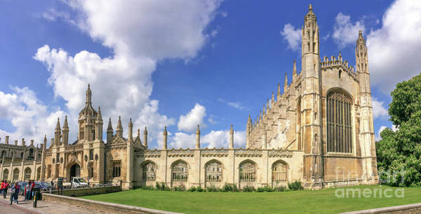 Wall Art - Photograph - King's College by Delphimages Photo Creations