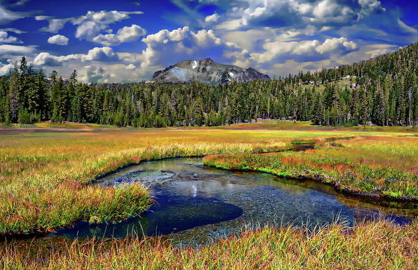 Photograph - Kings Creek Meadow by Anthony Dezenzio