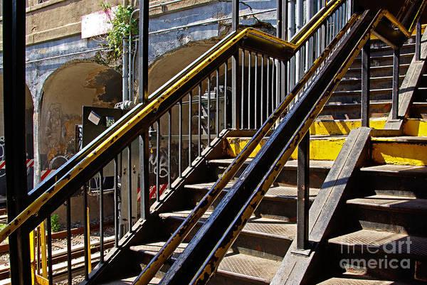 Wall Art - Photograph - Kings Hwy Subway Station In Brooklyn by Zal Latzkovich
