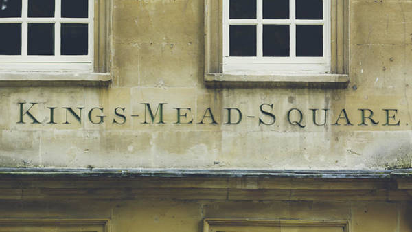 Photograph - Kings Mead Square Carved In The Stone by Jacek Wojnarowski