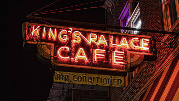 Wall Art - Photograph - Kings Palace Cafe by Stephen Stookey