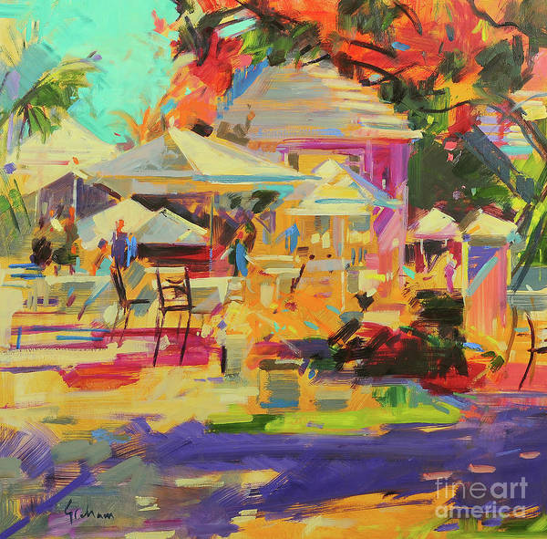 Bermuda Wall Art - Painting - King's Point, Bermuda by Peter Graham