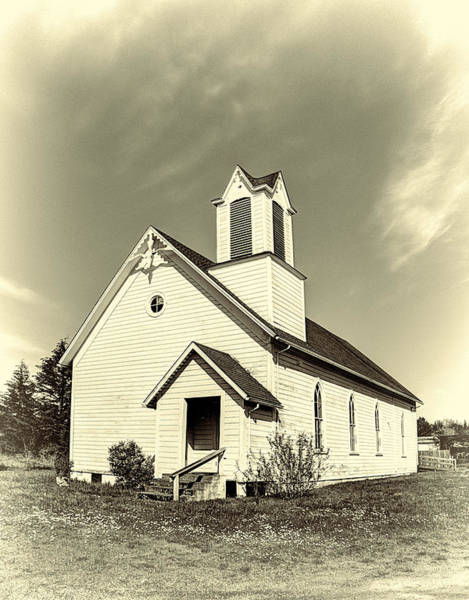 Photograph - Kings Valley Church by HW Kateley