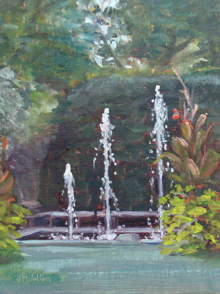 Painting - Kingwood Sparkles by Judy Fischer Walton