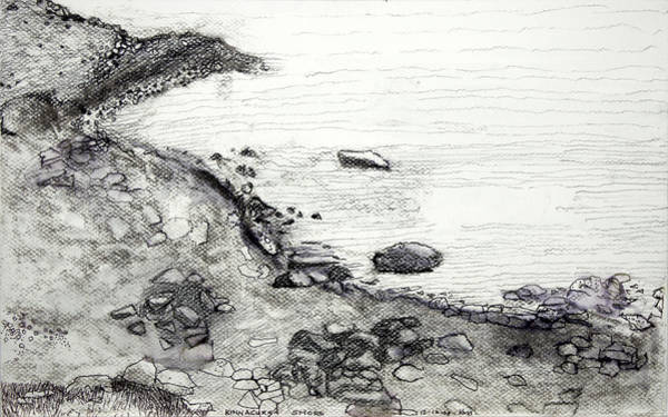 Kinnacurra Shore Art Print
