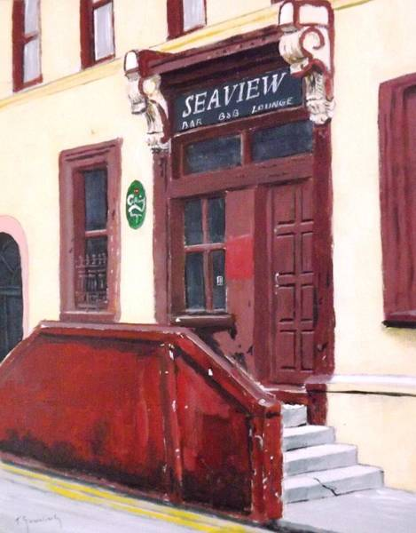 Dereliction Painting - Kinsale B And B by Tony Gunning