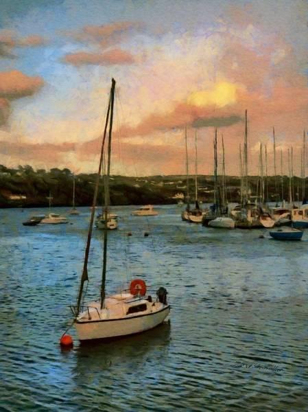 Painting - Kinsale Harbour Evening by Jeffrey Kolker