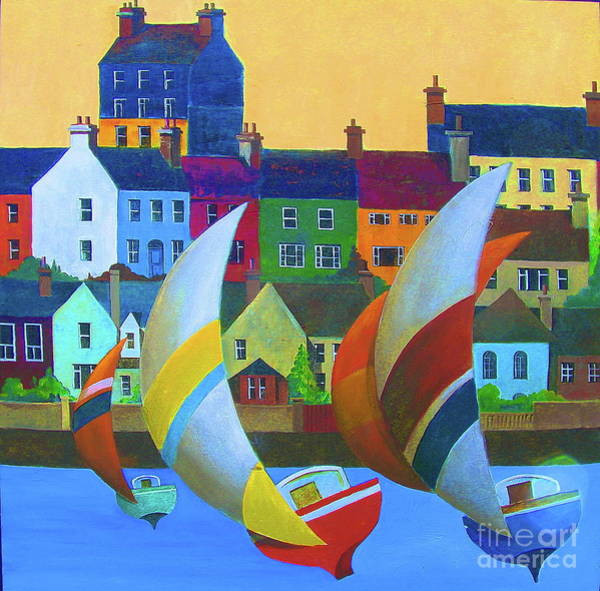 Painting - Kinsale Yachting, Cork by Val Byrne