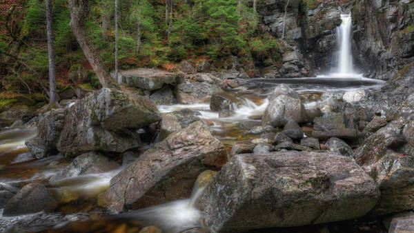 Photograph - Kinsman Falls by Bill Wakeley