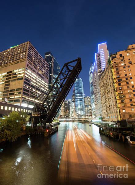 Wall Art - Photograph - Kinzie Bridge In Chicago by Juli Scalzi
