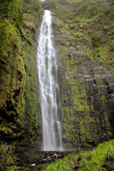 Wall Art - Photograph - Kipahulu Falls With Foliage by Jenna Szerlag