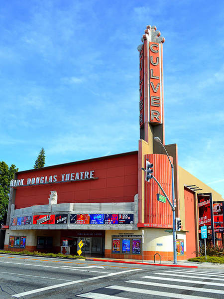 Photograph - Kirk Douglas Theater - Culver City by Glenn McCarthy Art and Photography