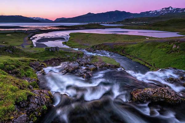 Photograph - Kirkjufellfoss - A Different View by Neil Shapiro