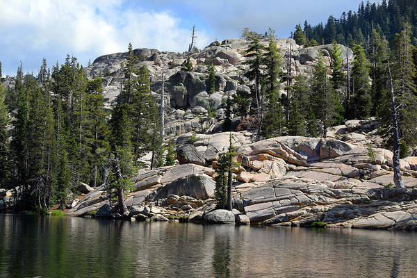 Photograph - Kirkwood Lake In The High Sierras by Frank Wilson