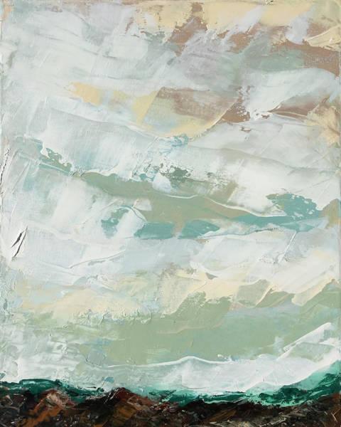 Aurora Borealis Painting - Kiss by Nathan Rhoads