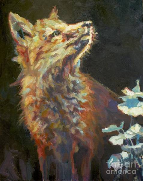 Painting - Kit by Patricia A Griffin