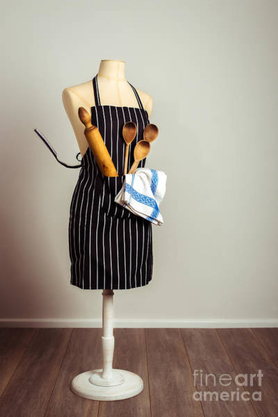 Apron Wall Art - Photograph - Kitchen Apron by Amanda Elwell