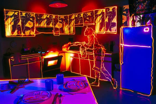 Wall Art - Photograph - Kitchen Fire by Garry Gay